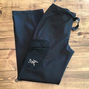 Arc'teryx Soft Shell Black Fleece Lined Pants